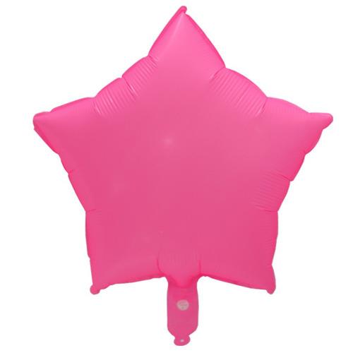 globo estrella corazon neón verde rosado 35cm mayor detal