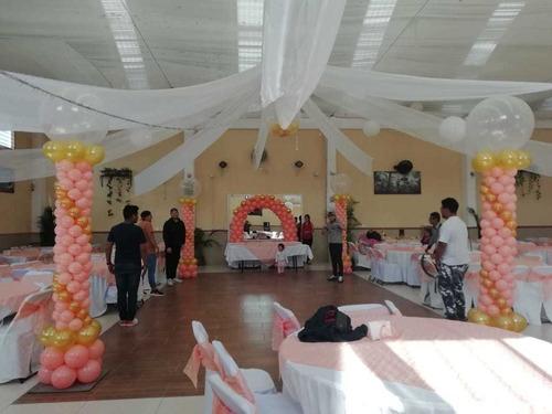 globo eventos decoración con