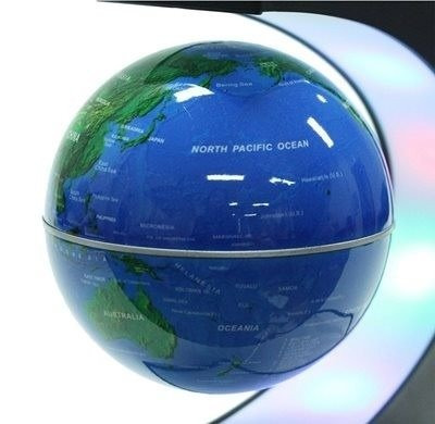 globo flutuante magnético azul
