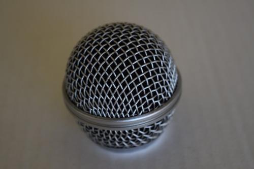 globo , grille csr p/ microfone, ht48, ht58 compat. sm58 .