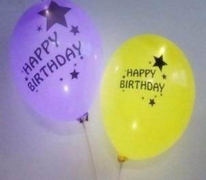 globo led happy birthday /globos feliz cumpleaños