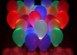 globo led - para cotillon, regalos, fiestas hora loca