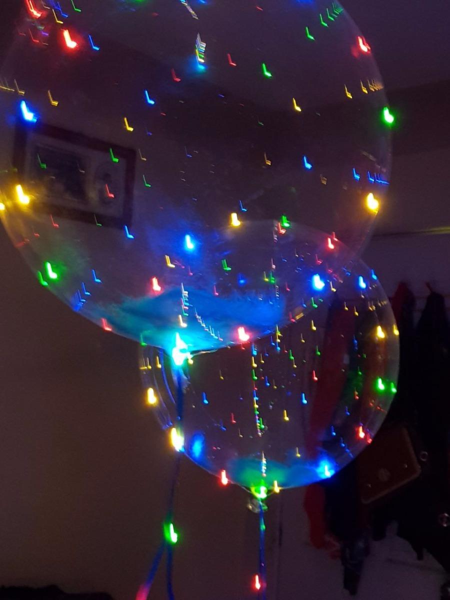 Globo led pilas plumas globos con luces de colores en mercado libre - Focos led con luces de colores ...