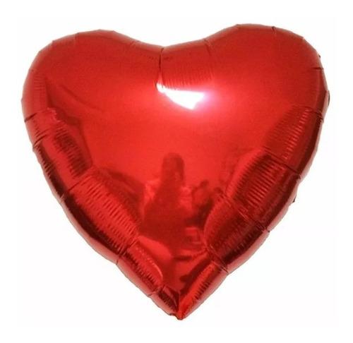 globo metálico de corazones de 18 pulgadas