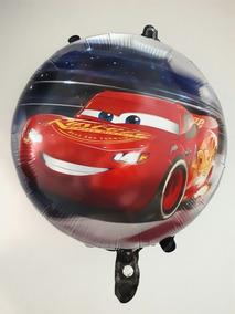 Globos Metalizados Redondos Motivos Disney 7 Cars Ben 10