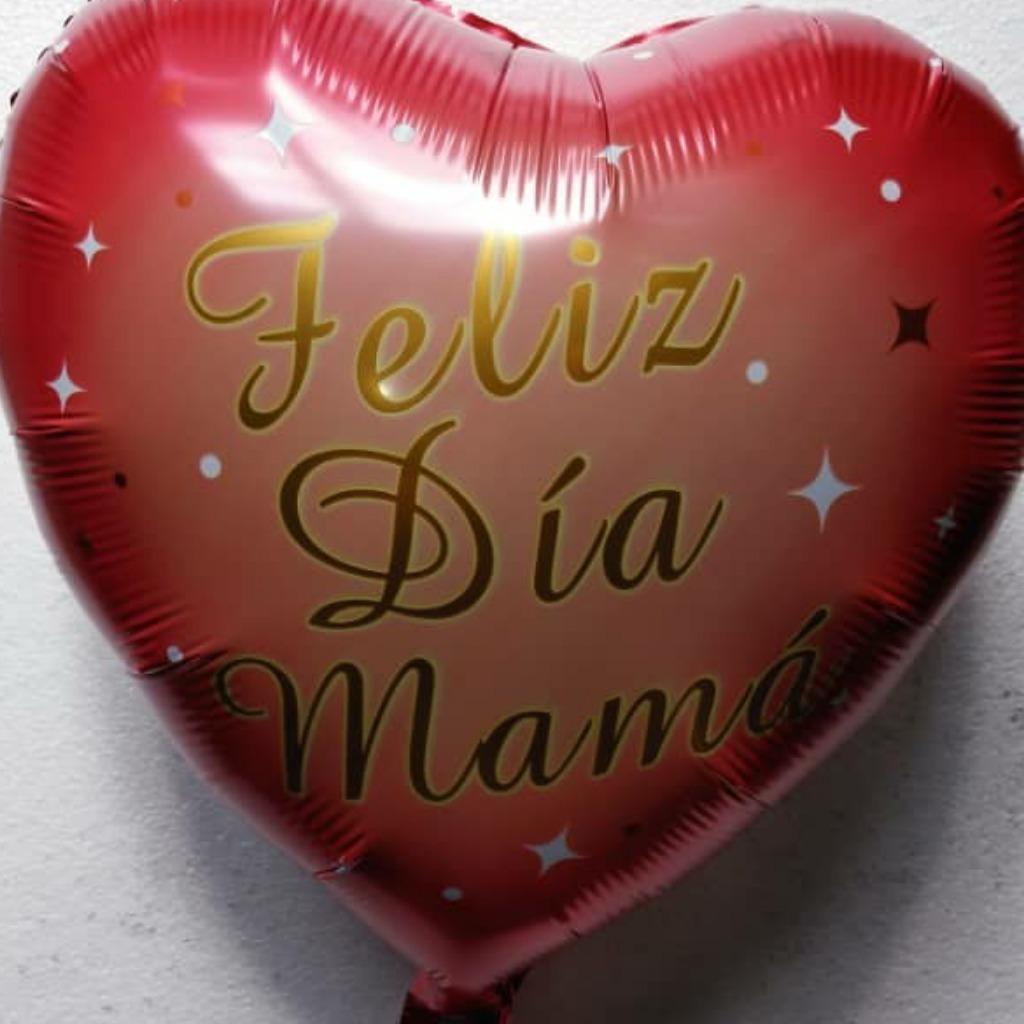 Globo Metalizado De Corazones Para El Dia De La Madre De 18