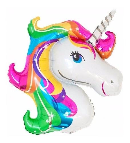 globo metalizado unicornio