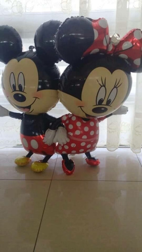 globo minnie  y mickey mouse grande