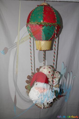 globo navideño de amigos