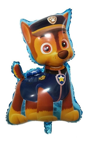 globo paw patrol patrulla canina chase marshall rubble 70cm
