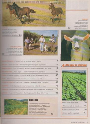 globo rural 107 hibiscos cabra leiteira pequenas áreas jambo