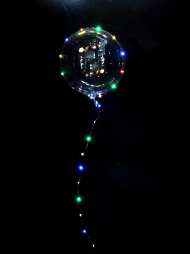 globo serie luz led bodas, xv años, bautizos