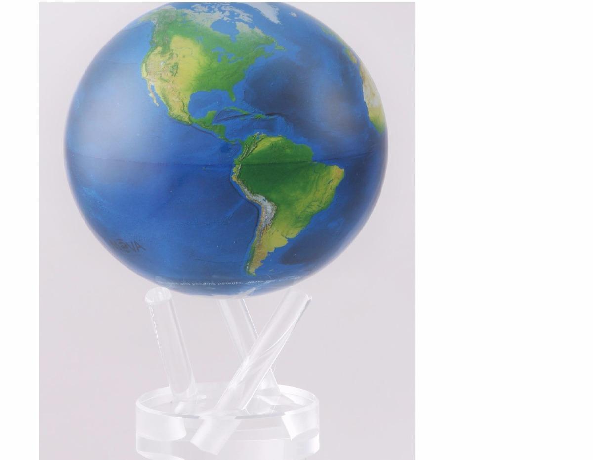 Globo terraqueo giratorio movimiento perpetuo 3 for Donde comprar globos