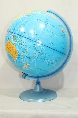 globo terraqueo gloter 25 cm base plastico cod 257