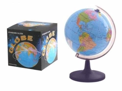 globo terraqueo  politico de escritrio decorativo mapamundi