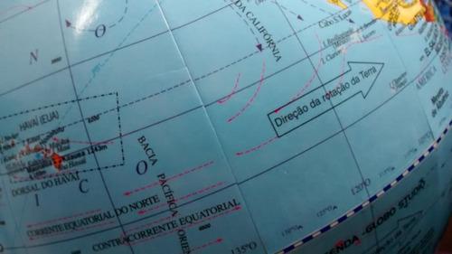 globo terrestre político - 30 cm diâmetro + brinde 2 mapas !