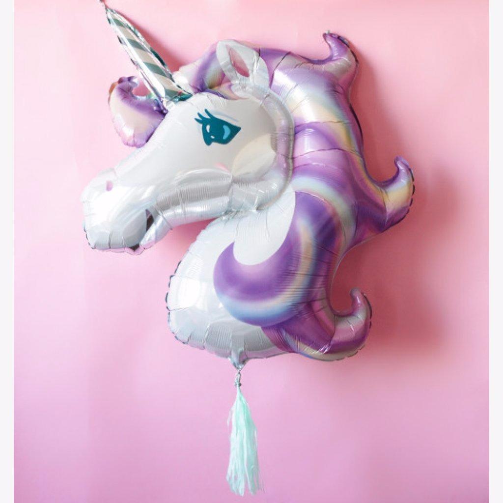 Globo Unicornio Color Pastel (83 Cm X 73 Cm) - $ 75.00 en Mercado Libre