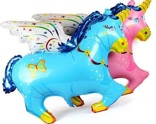Globo Unicornio Pony Pegaso Fantasia Souvenirs Baby Shower 4000