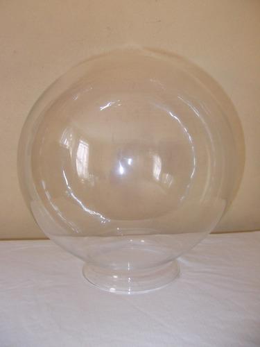 globo vidrio luminaria 25 cms. valor c/u.