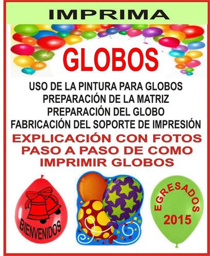globologia animacion  imprimi globos para tus clientes