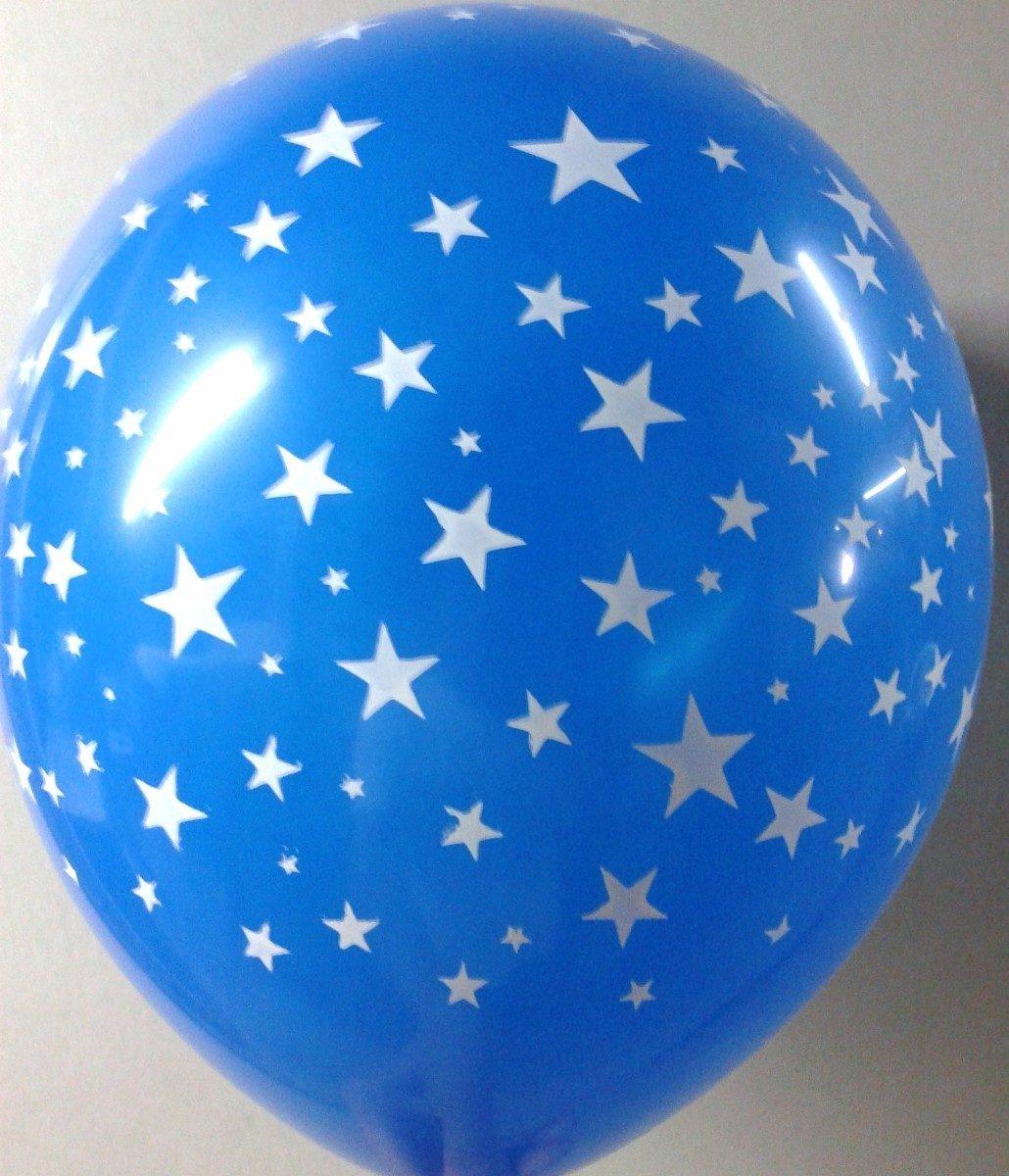 Globos 12 pulg con estrellas colores surtidos 50 x 280 for Donde comprar globos