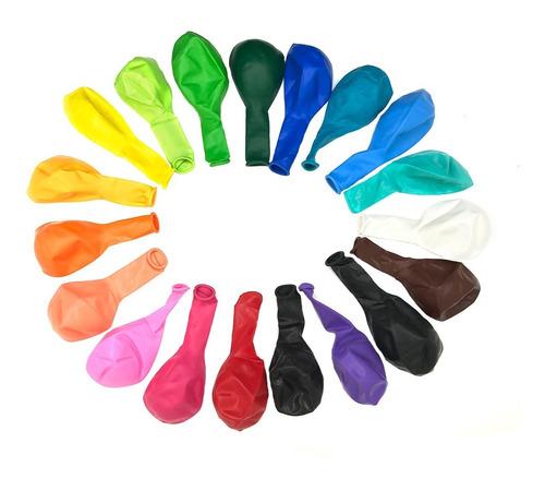 globos 12 pulgadas colores a elección x 50 unidades