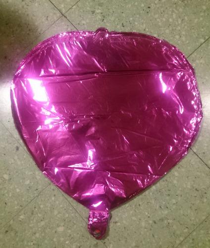 globos 18 pulgadas corazones metalizados