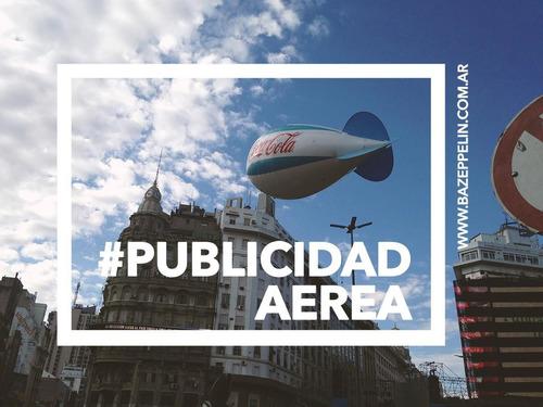 globos aerostaticos con publicidad para inflar con gas helio