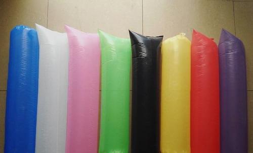 globos aplaudidores de cancha politubos color x 100 u.