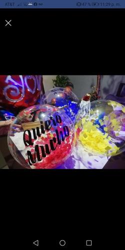 globos burbuja