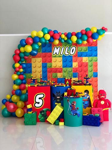 globos, candy bar, ambientación temática,alquiler de mesas