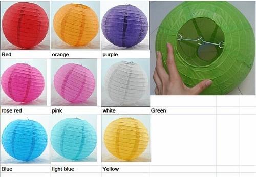 globos chinos de papel fiestas decoracion hermosos 6 unid