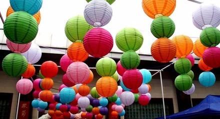 globos chinos papel grande cm decoracin bodas eventos