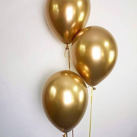 globos chrome latex metalizados para fiestas r12 10 unidades