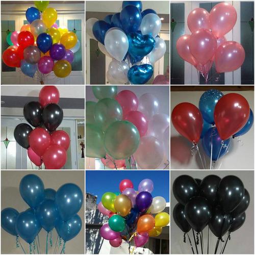 globos con  gas helio en zona sur