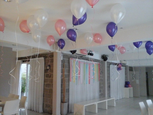 globos con gas helio - local en villa urquiza