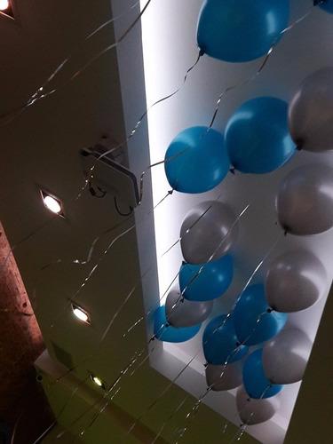 globos con gas helio por 10 unidades- local en v. urquiza