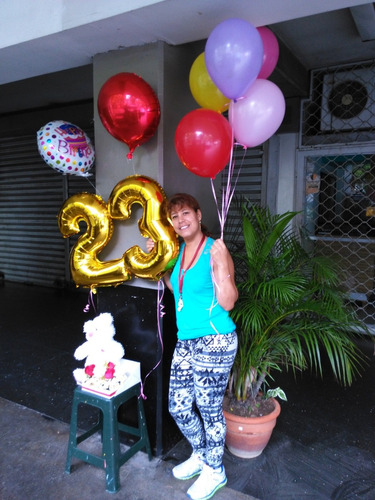 globos con helio arreglos globos y flores globos de números