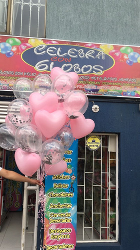 globos con helio certificado