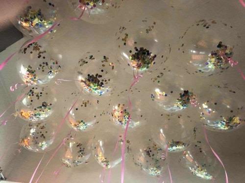 globos con helio  !!con papelitos lo ultimo!!!americanos!!
