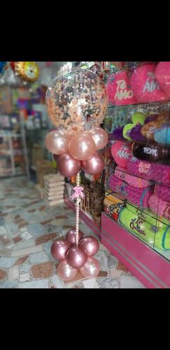 globos con helio, decoraciones con globos