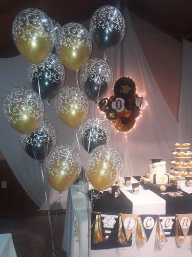 globos con helio!! dobles en diferentes diseños y color!!!!