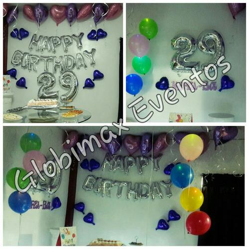 globos con helio en lima y callao