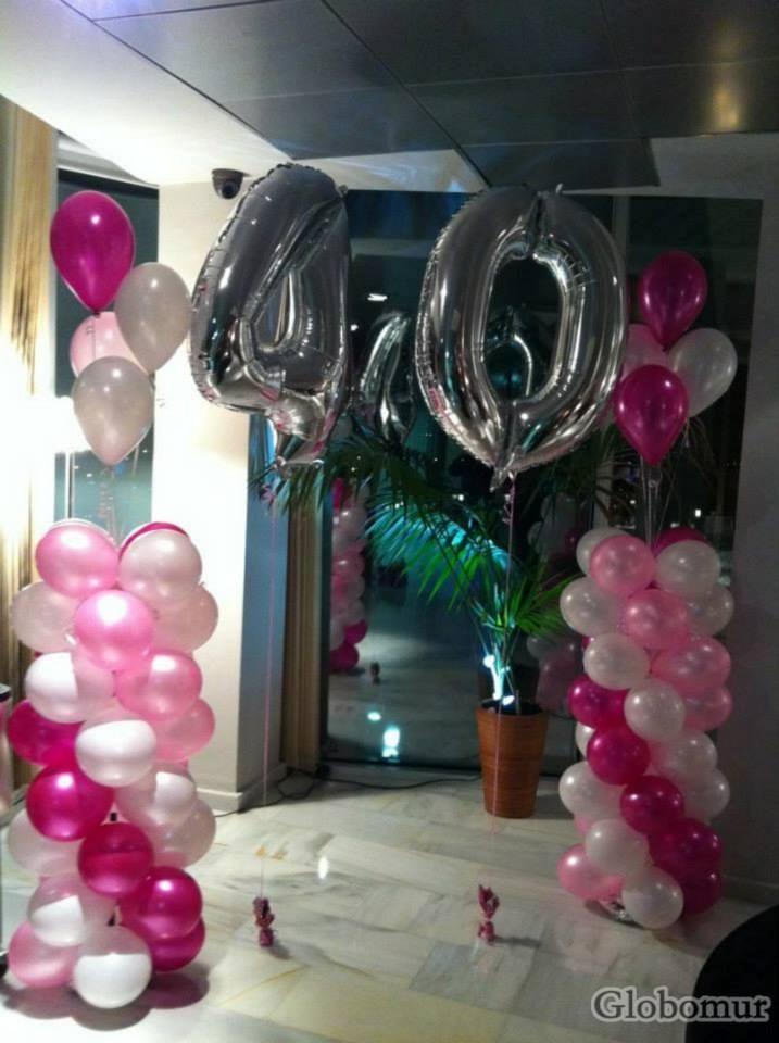 Globos con helio gas helio bombona de helio bs for Decoracion con globos 50 anos