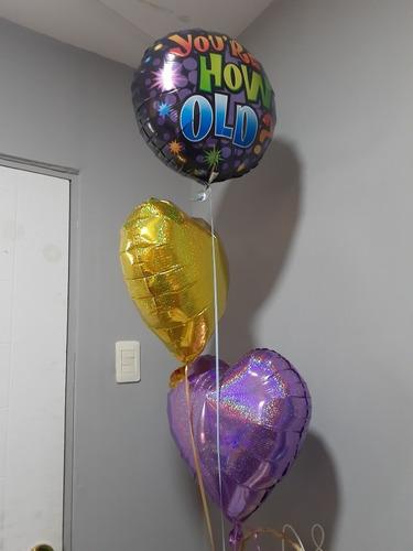 globos con helio,corazónes, estrellas,dia de la madre