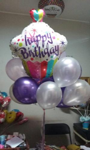 globos con helio,de letras,numeros, metálicos, unicornio