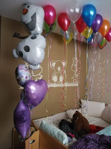 globos con helio,numeros,letras, metálicos,981160963