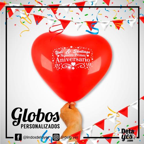 globos corazón personalizados r12 x 12 und