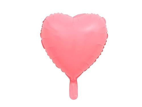 globos corazones neon rosa verde azul y naranja 35cm oferta