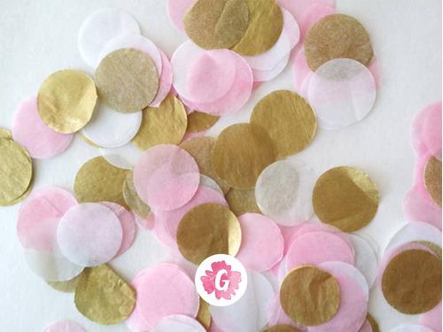globos cristal confetti confeti pastel dorado apto helio